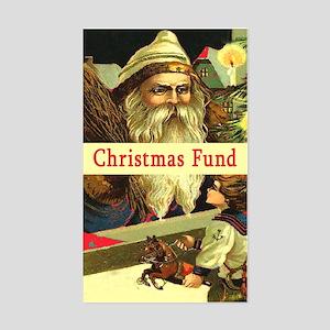 Christmas Fund TipJar Sticker