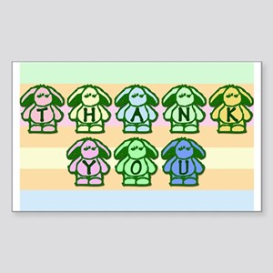 So Cute Bunnies Tipjar Sticker