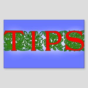 Pretty Tip Jar Sticker