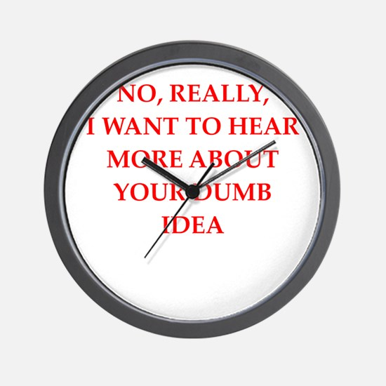 dumb Wall Clock