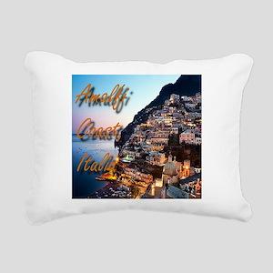 Amalfi Coast Rectangular Canvas Pillow