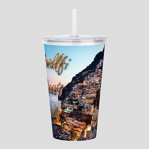 Amalfi Coast Acrylic Double-wall Tumbler
