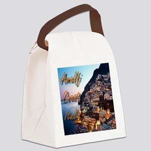 Amalfi Coast Canvas Lunch Bag