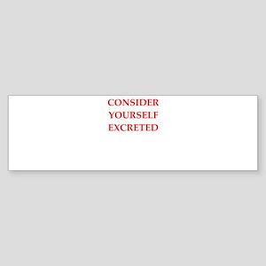 consider Bumper Sticker