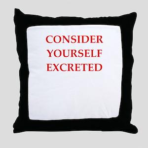 consider Throw Pillow