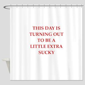 sucky Shower Curtain
