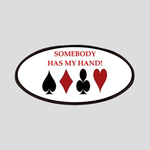 card player Patch