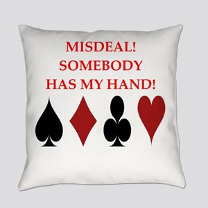 card player Everyday Pillow