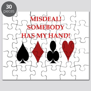 card player Puzzle