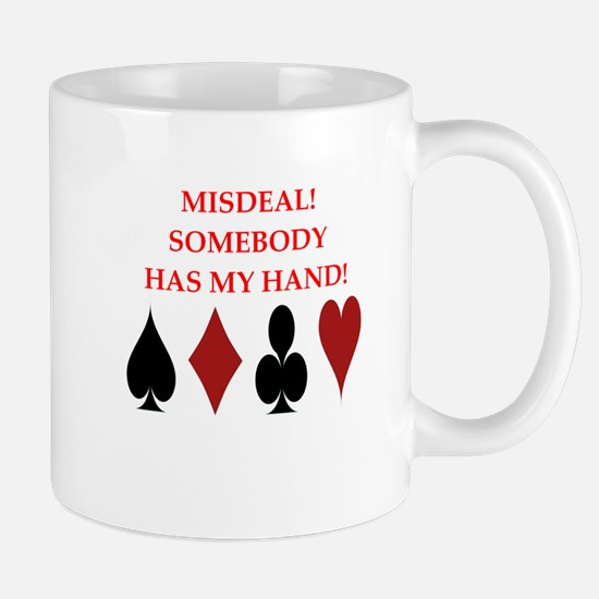 card player Mugs
