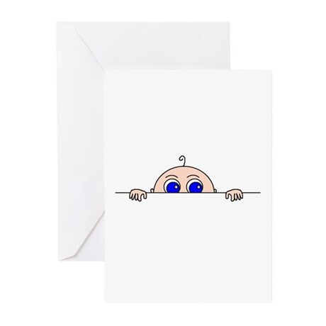 INVITATIONS/ANNOUNCEMENTS Greeting Cards (Pk of 10