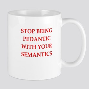 pedantic Mugs