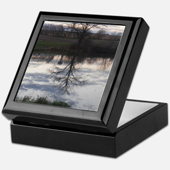 Cute Creeks Keepsake Box