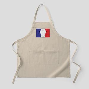 France Flag Design Apron