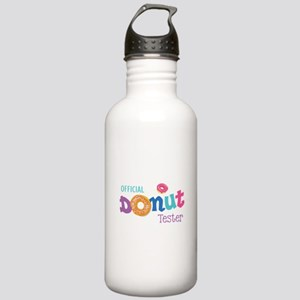 Official Donut Tester Stainless Water Bottle 1.0L