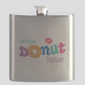Official Donut Tester Flask