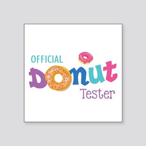 Official Donut Tester Sticker