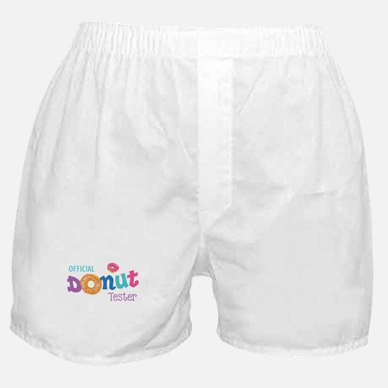 Official Donut Tester Boxer Shorts