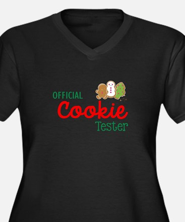 Official Cookie Tester Plus Size T-Shirt