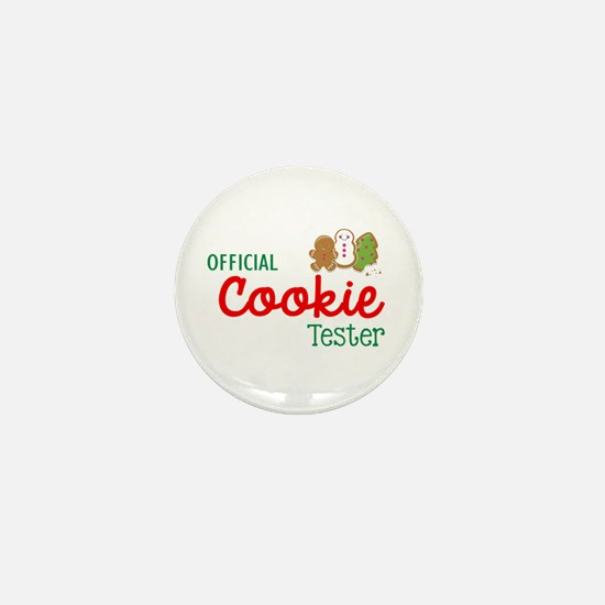 Official Cookie Tester Mini Button