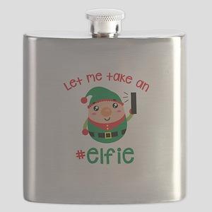 Let Me Take an #Elfie Flask