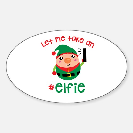 Let Me Take an #Elfie Decal