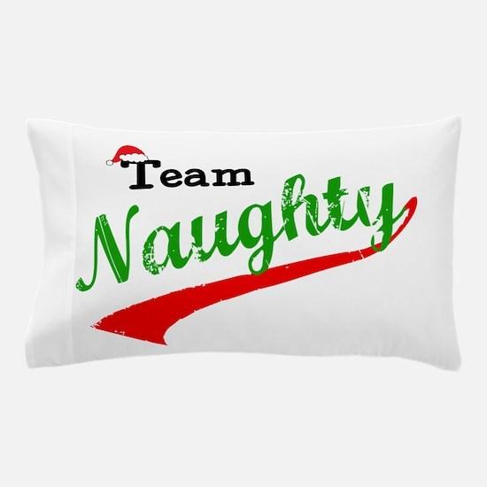 Team Naughty Pillow Case