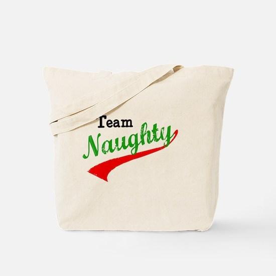 Team Naughty Tote Bag