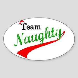 Team Naughty Sticker