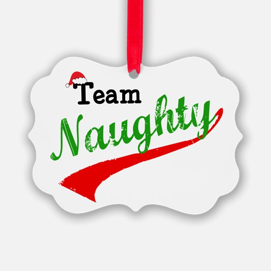 Team Naughty Ornament