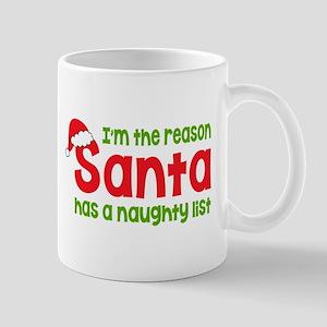 Santa Naughty List Mugs