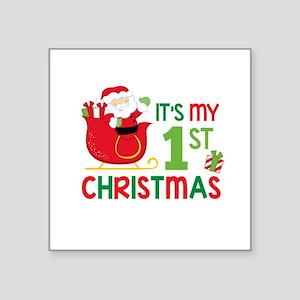 It's My 1st Christmas Sticker
