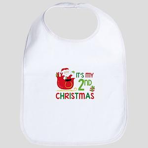 It's My 2nd Christmas Bib