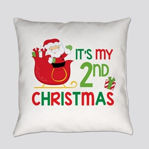 It's My 2nd Christmas Everyday Pillow