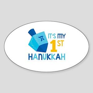 It's My 1st Hanukkah Sticker