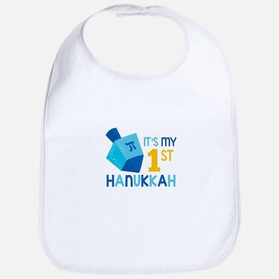 It's My 1st Hanukkah Bib