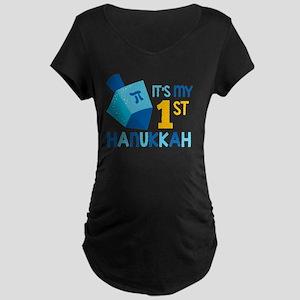 It's My 1st Hanukkah Maternity T-Shirt