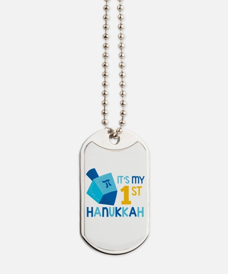 It's My 1st Hanukkah Dog Tags