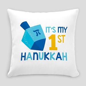 It's My 1st Hanukkah Everyday Pillow