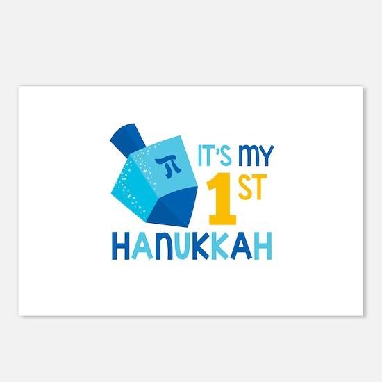 It's My 1st Hanukkah Postcards (Package of 8)