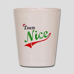 Team Nice Shot Glass