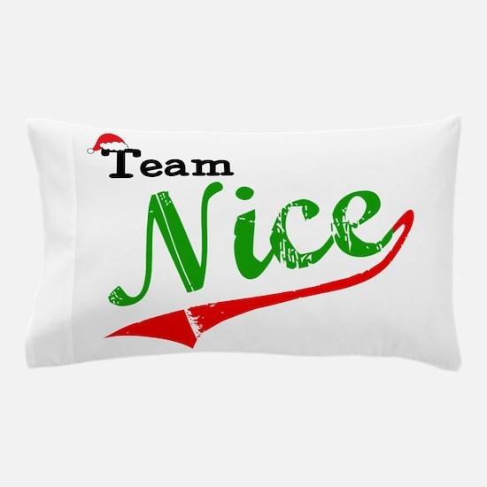 Team Nice Pillow Case