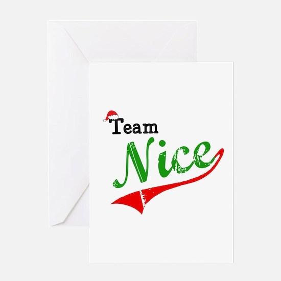 Team Nice Greeting Cards