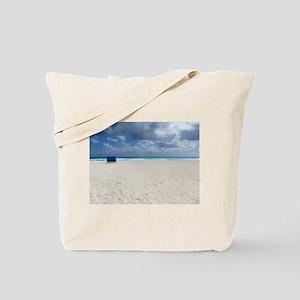 A Beach Chair Awaits Tote Bag