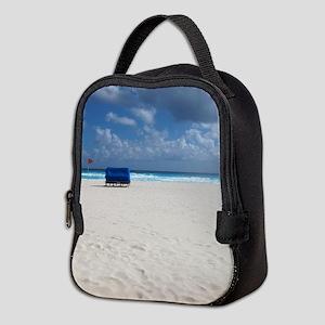 A Beach Chair Awaits Neoprene Lunch Bag