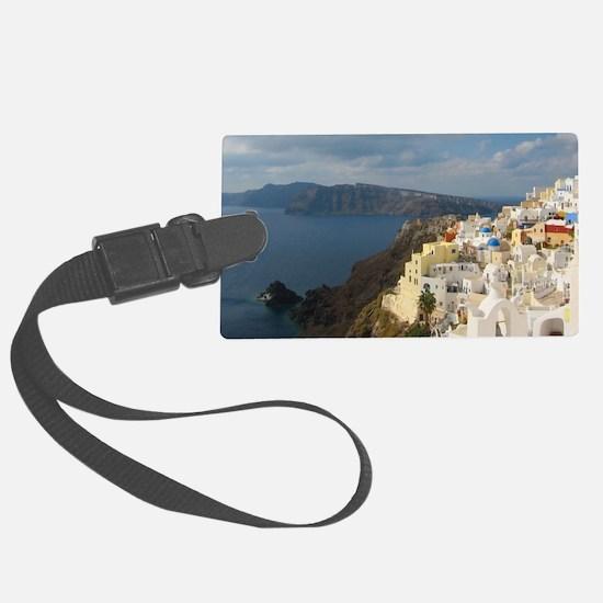 Unique Santorini Luggage Tag