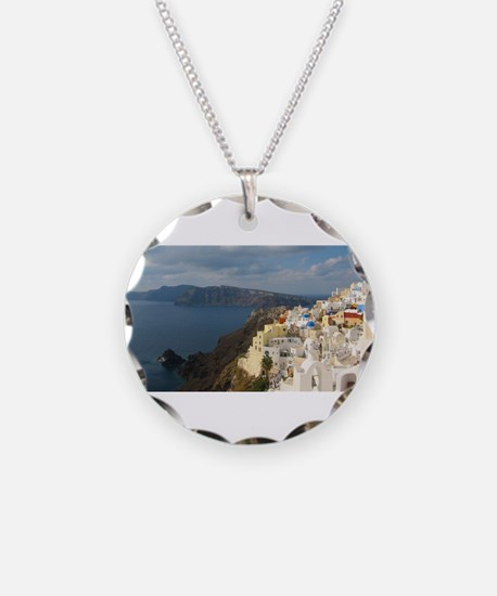 Santorini in the Afternoon S Necklace