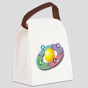 PDCA - Plan Do Check Act Canvas Lunch Bag