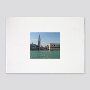 St. Mark's Square from Boat 5'x7'Area Rug