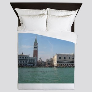 St. Mark's Square from Boat Queen Duvet